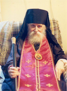 The Holy Clairvoyant Archbishop Andrew of Novo-Diyevo, who punished Fr. Isaac for his disobedience.