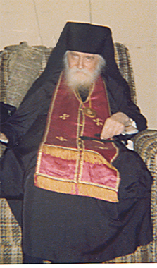 Archbishop Andrew, who rebuked Fr. Panteliemon for his immorality.
