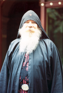 Father Cyril, who was forced to work every day in the presence of a naked woman.