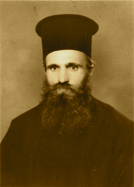 The Righteous Father John the Romanian, whose incorrupt relics are in the monastery of St. George Khozeva.