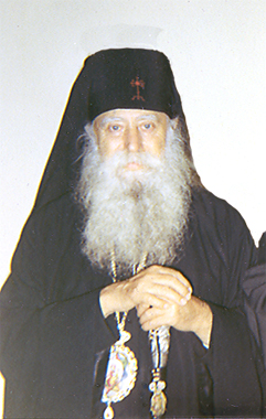 Metropolitan Kallistos, who read exorcisms over Fr. Panteleimon.
